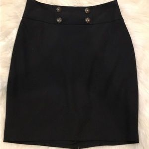 Limited pencil skirt size 2 black